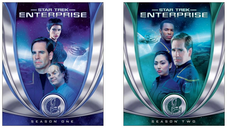 Star Trek: Enterprise on Blu-ray - Cover design 1