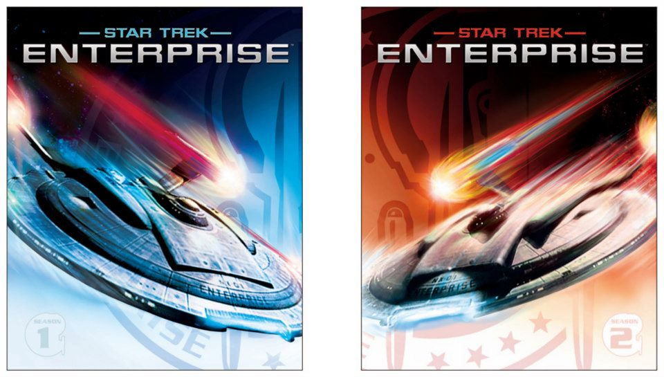 Star Trek: Enterprise on Blu-ray - Cover design 2