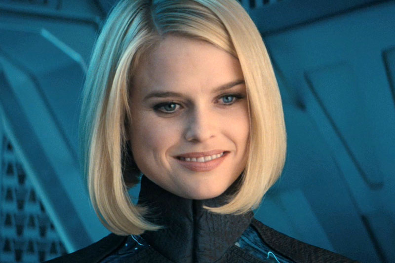 Alice Eve as Doctor Carol Marcus