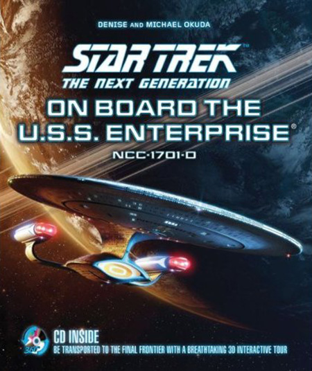 Star Trek The Next Generation On Board the U.S.S. Enterprise cover art