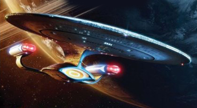 "New Book ""On Board the USS Enterprise"" by Mike and Denise Okuda Coming in March"