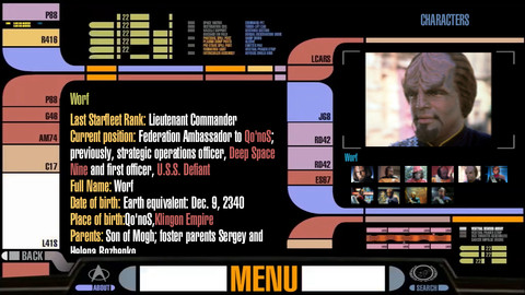 Star Trek PADD app for iPhone