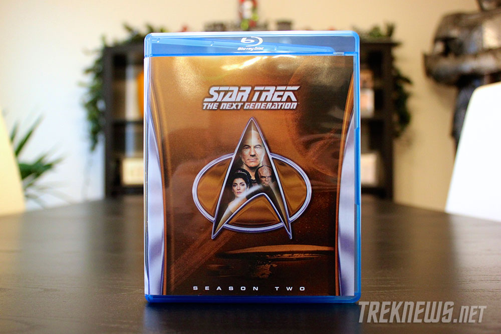 Star Trek: TNG Season 2 on Blu-ray cover art