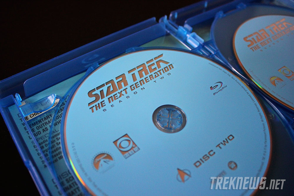 Star Trek: TNG Season 2 on Blu-ray