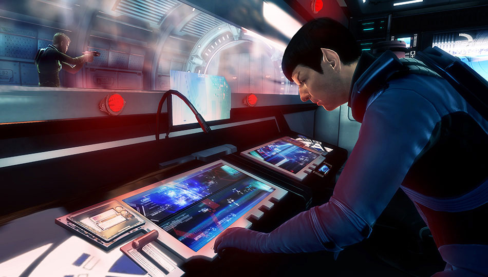 Star Trek Video Game - Spock