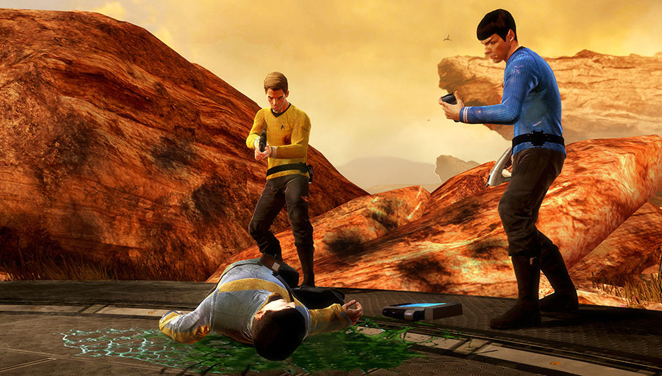 Star Trek Video Game Kirk &amp; Spock