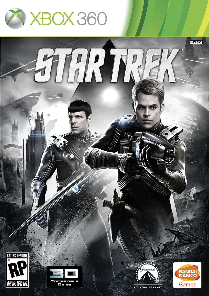 Star Trek Video Game Cover Art