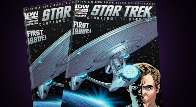 PREVIEW: Star Trek Countdown To Darkness #1