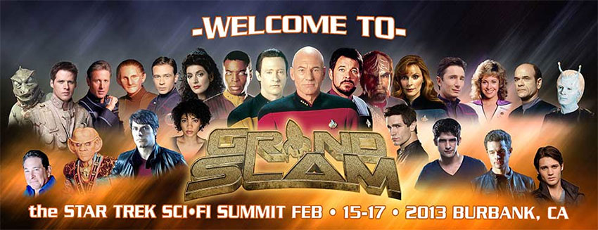 Creation Entertainment&#039;s &#039;Grand Slam Convention: The Star Trek &amp; Sci-Fi Summit&#039; returns to Los Angeles on Friday, February 15th.