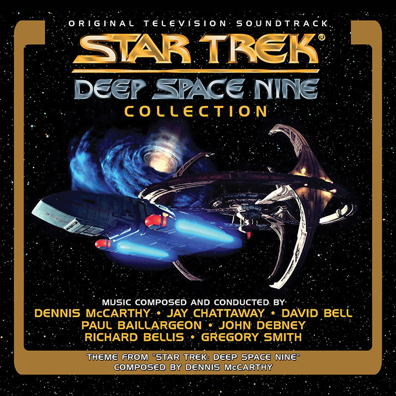 Star Trek: Deep Space Nine Soundtrack Collection cover art