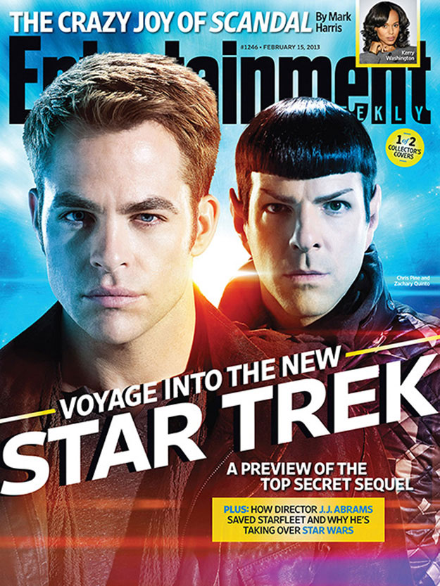 EW's Star Trek Into Darkness Issue - Cover A