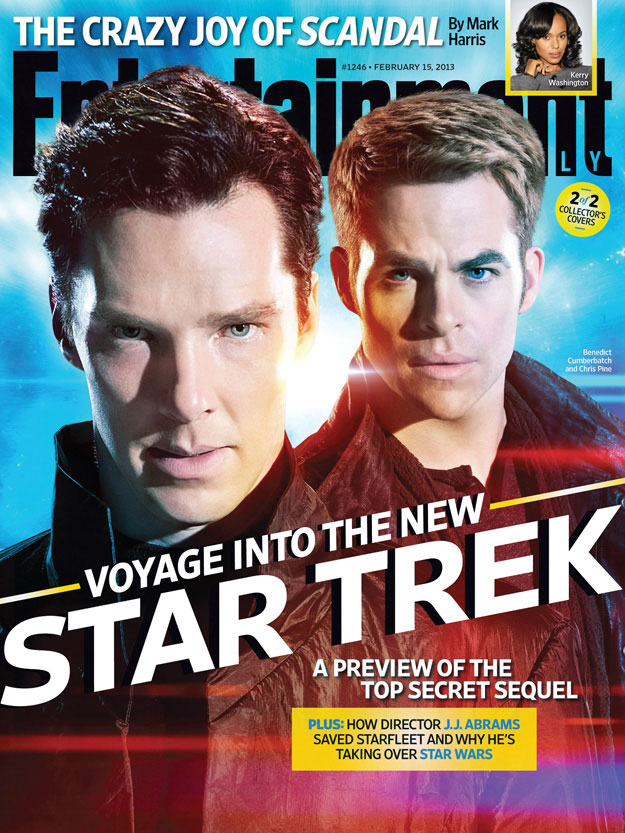 EW's Star Trek Into Darkness Issue - Cover B