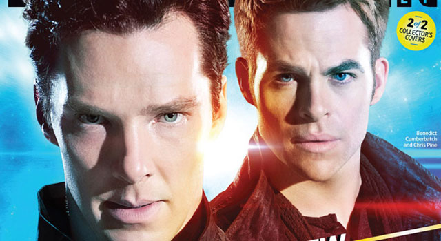 EW's STAR TREK INTO DARKNESS Collector's Covers Set to Hit Newsstands This Friday