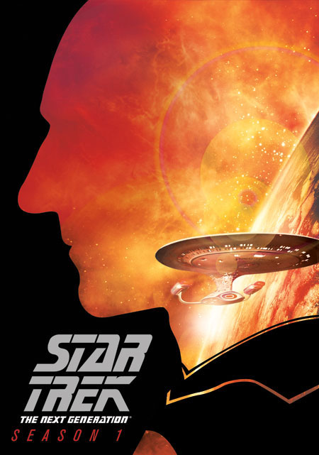 Star Trek: The Next Generation - Season 1 DVD Re-Release Cover Art