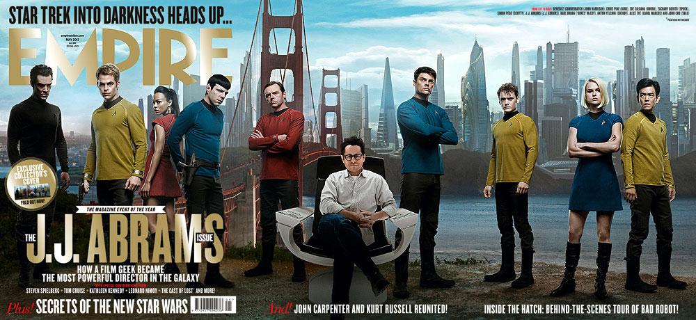 Empire Magazine's Star Trek Into Darkness Cover