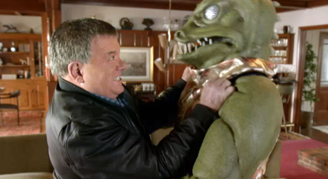 WATCH: Shatner Battles The Gorn In New 'Star Trek: The Video Game' Spot