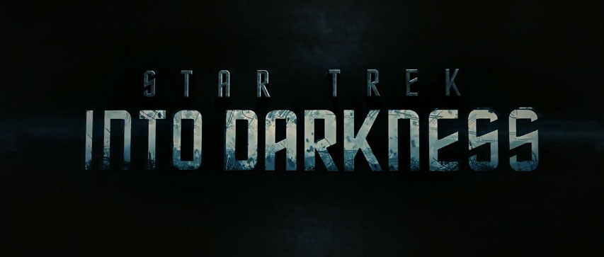 STAR TREK INTO DARKNESS title screen