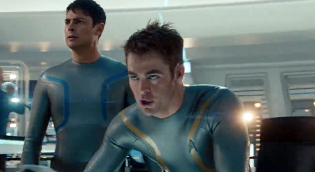 WATCH: First Two-Minute Clip From STAR TREK INTO DARKNESS [SPOILERS]
