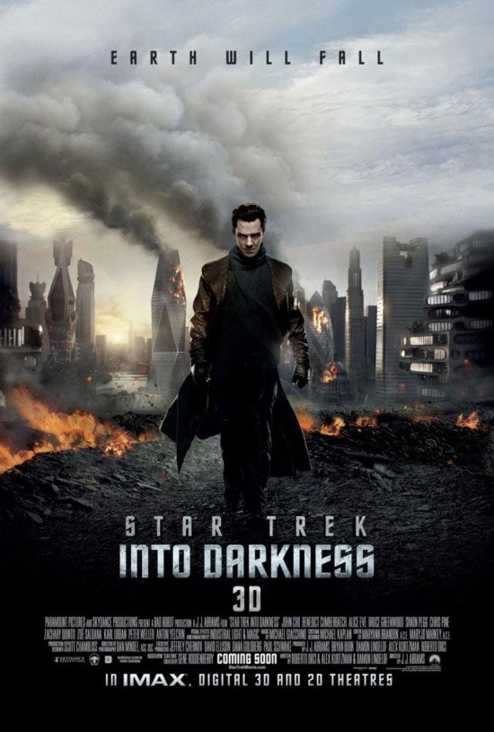 New STAR TREK INTO DARKNESS International Poster