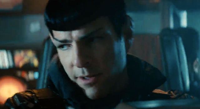 "WATCH: ""Kirk & Spock Escape"" In Second Clip From STAR TREK INTO DARKNESS [SPOILERS]"