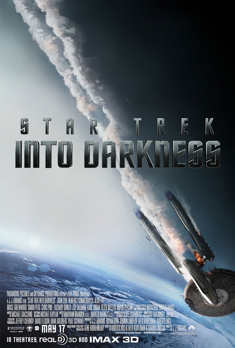 New Star Trek Into Darkness poster
