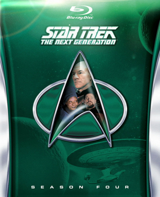 Star Trek: The Next Generation, Season 4 cover art