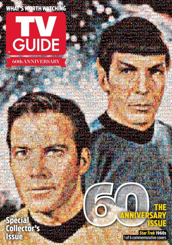 TV Guide 60th Anniversary issue - Star Trek cover