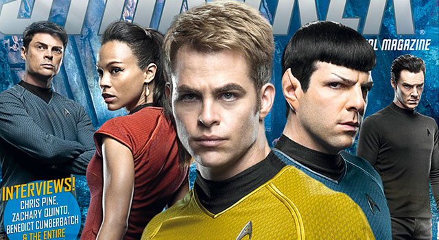 Star Trek Magazine To Feature 'INTO DARKNESS' Movie Special