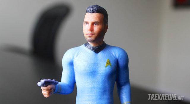 """Star Trek Yourself"" With A Custom 3D Printed Figure From Cubify"