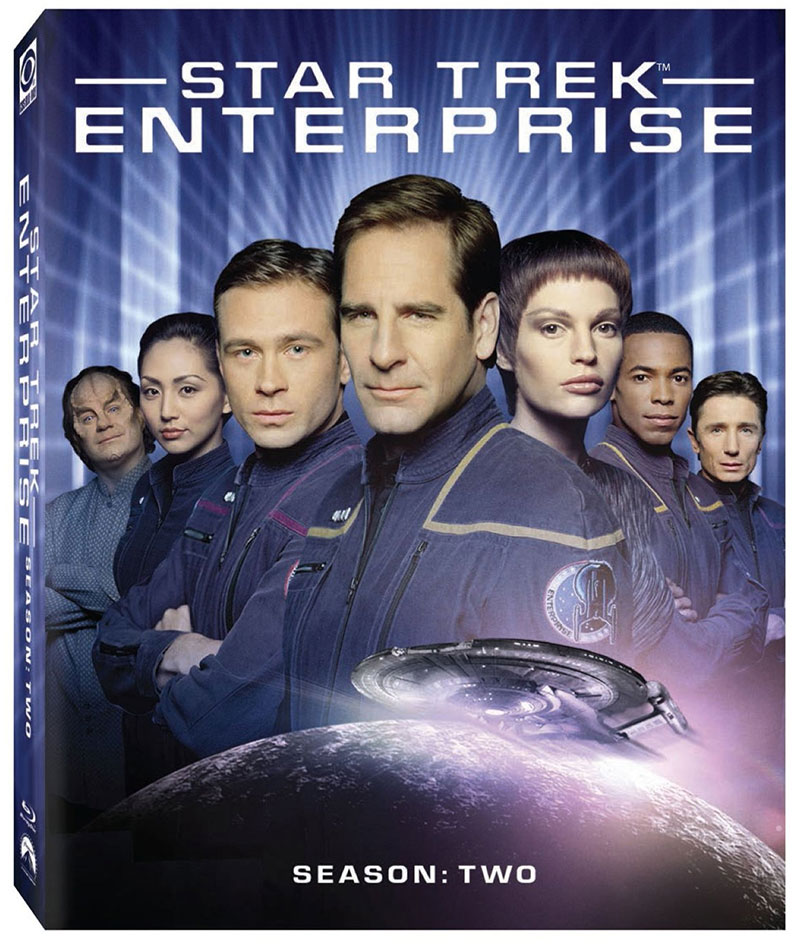 Updated Star Trek: Enterprise — Season 2 on Blu-ray cover art