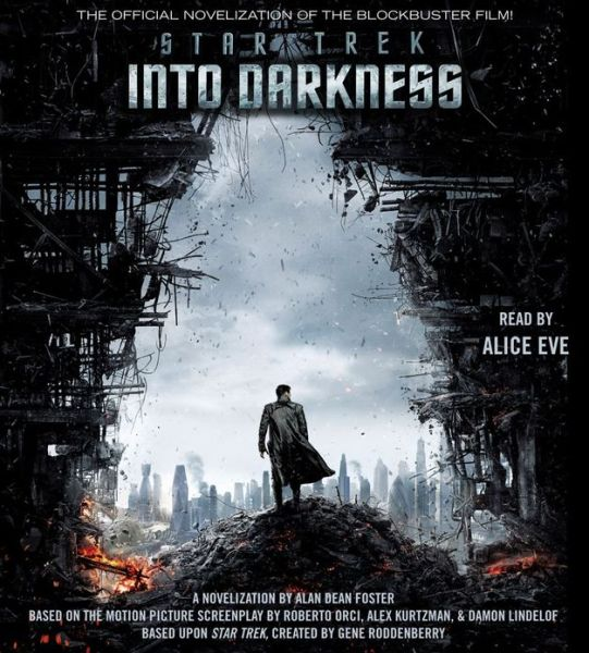Star Trek Into Darkness audiobook cover art