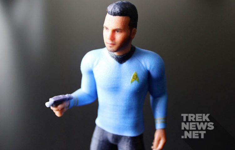 """""""Trek Yourself"""" With A Custom 3D Printed Figure From Cubify"""