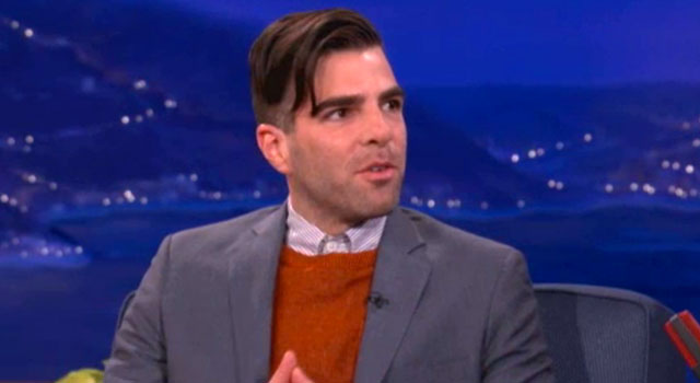 Zachary Quinto: I Kick Some Ass In This Movie