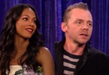 WATCH: Simon Pegg and Zoe Saldana on Jimmy Kimmel Live