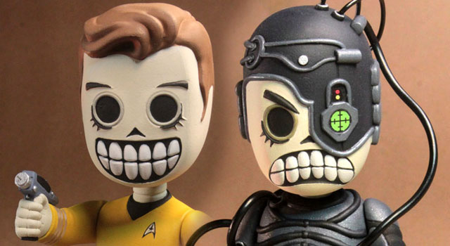 Star Trek Skele-Treks Vinyl Action Figures Coming From NECA
