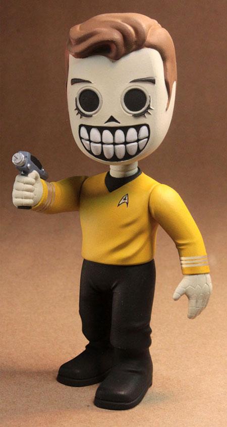 Skele-Treks Captain Kirk