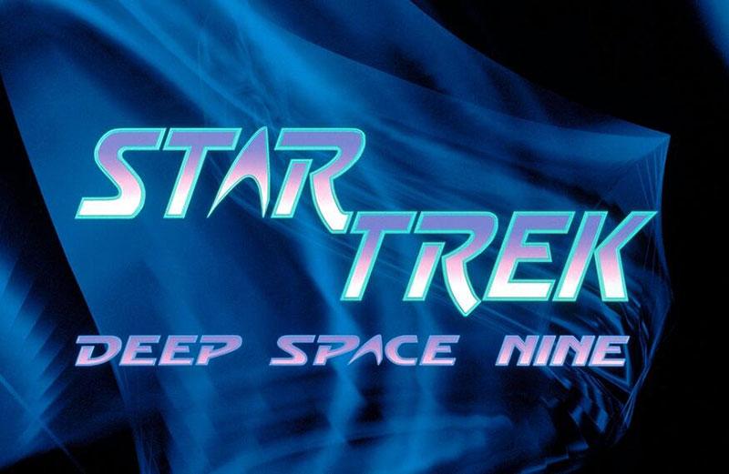 The original Deep Space Nine logo