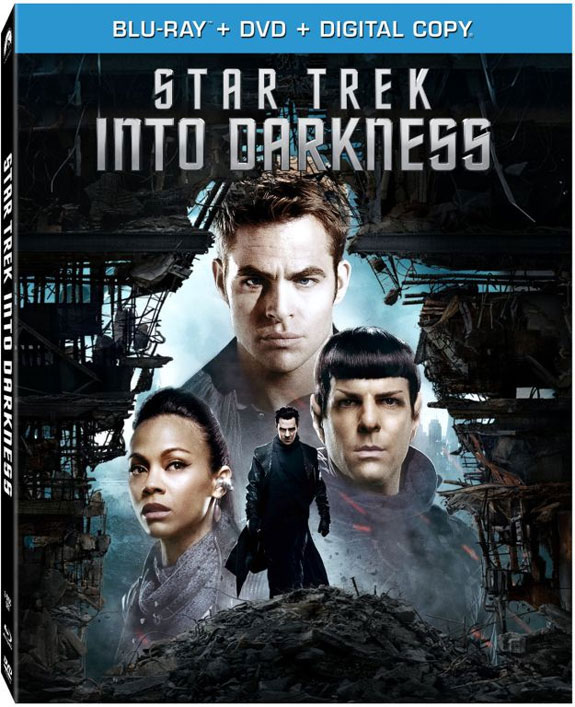 Star Trek Into Darkness Blu-ray cover art