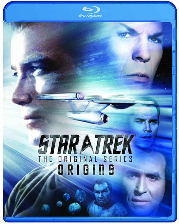 Star Trek: TOS - Origins cover art