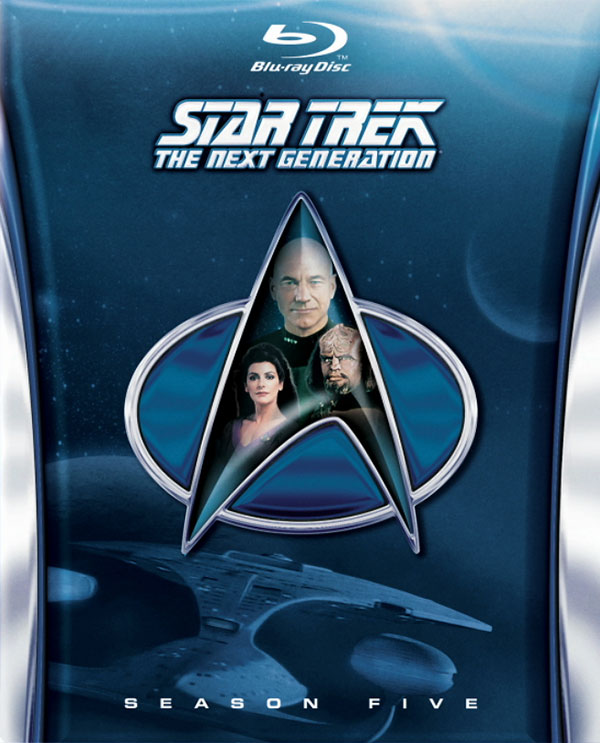 Star Trek: TNG Season 5 Blu-ray cover art
