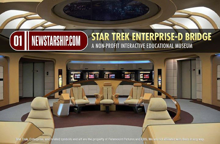 Restored Enterprise-D Bridge