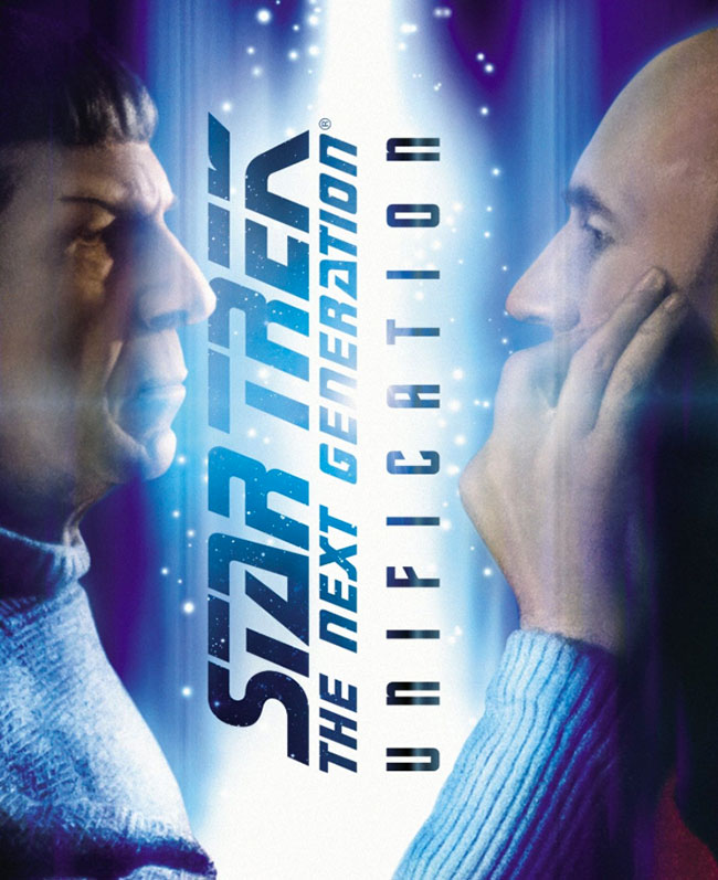 "Star Trek: The Next Generation ""Unification"" on Blu-ray"