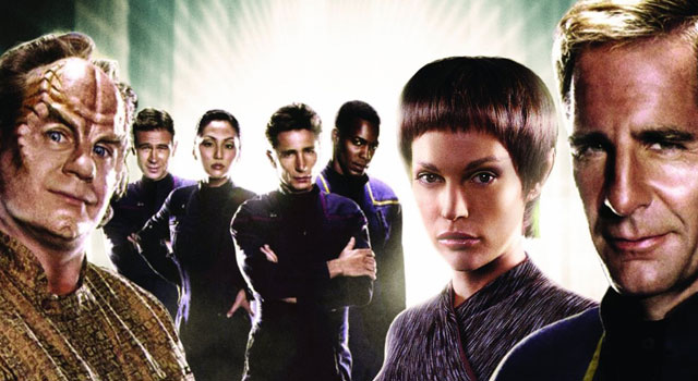 Star Trek: Enterprise Season 3 Blu-ray Trailer & Cover Art