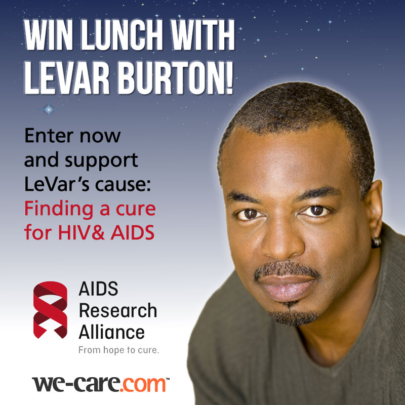 Win lunch with LeVar Burton