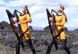 WATCH: TOS Theme Performed By The Harp Twins