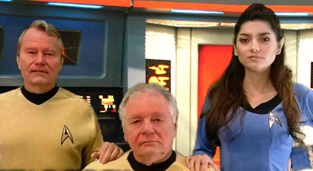 Details On New Film Project To Be Presented To CBS; 'Star Trek Equinox: The Night of Time'