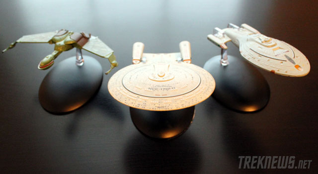 A Look At The Star Trek Starships Collection