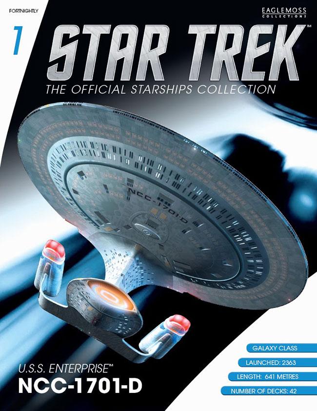 Star Trek Starships Collection Magazine