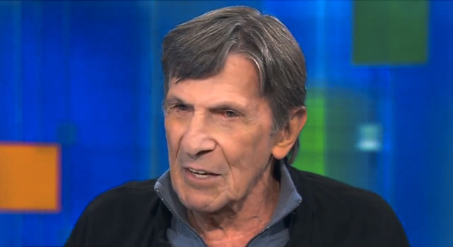 WATCH: Leonard Nimoy Talks COPD Diagnosis On 'Piers Morgan Live'