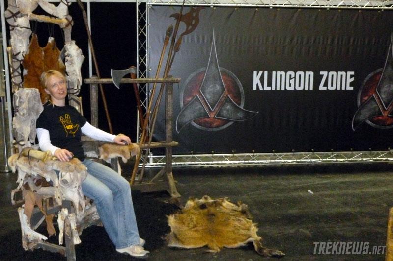 DSTG's Klingon Zone